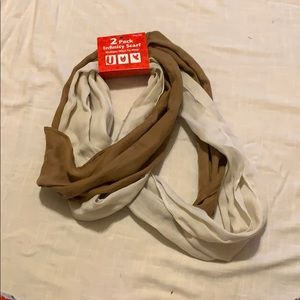 Infinity scarf 2-pack NWT